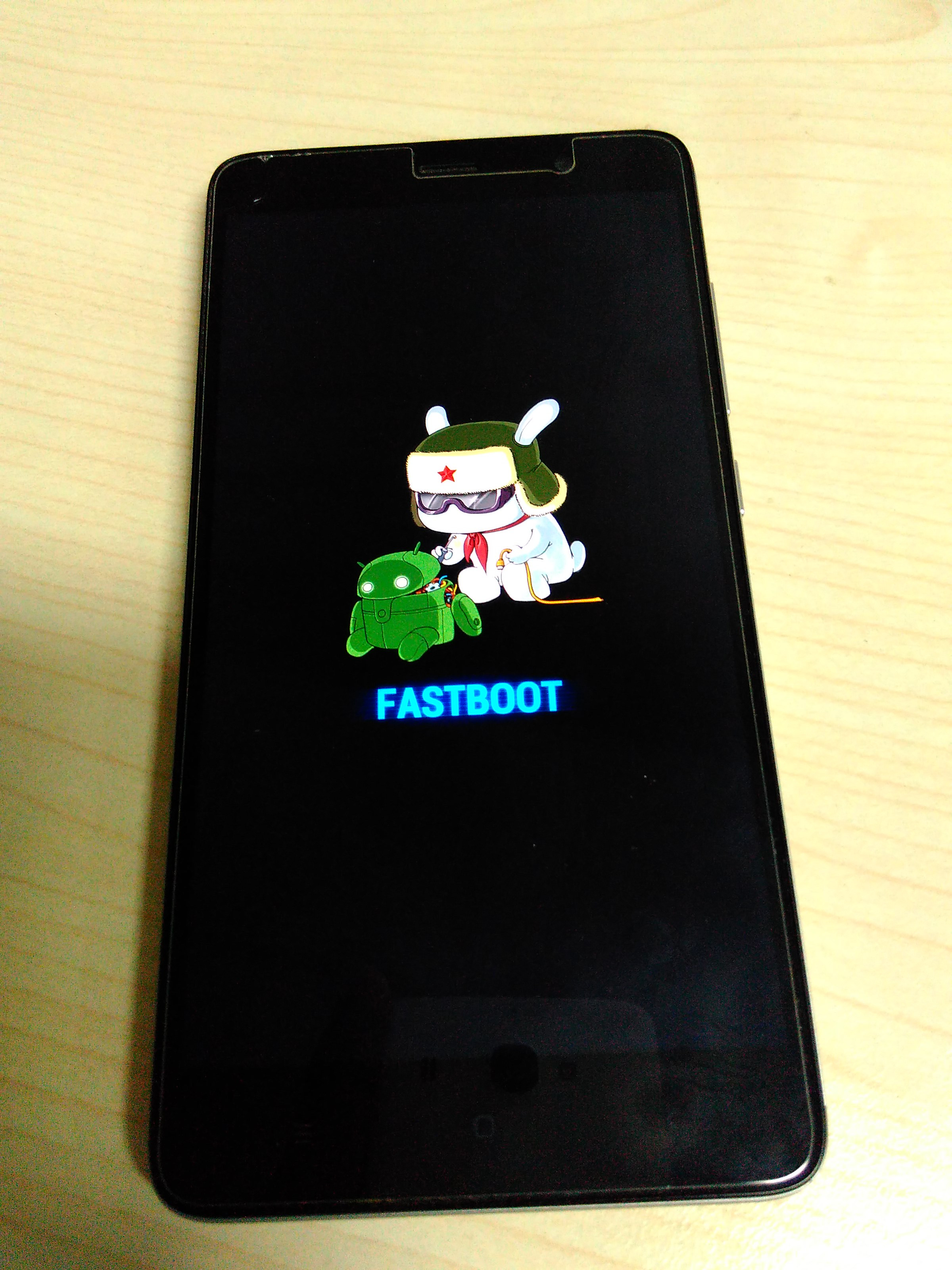 redmi note 3 fastboot