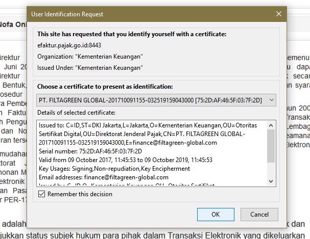 notifikasi accept setifikat