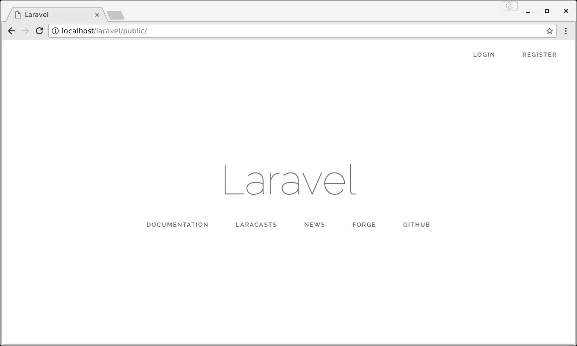 laravel new page