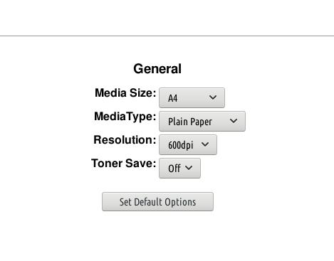 brother HL 1201 default printer settings