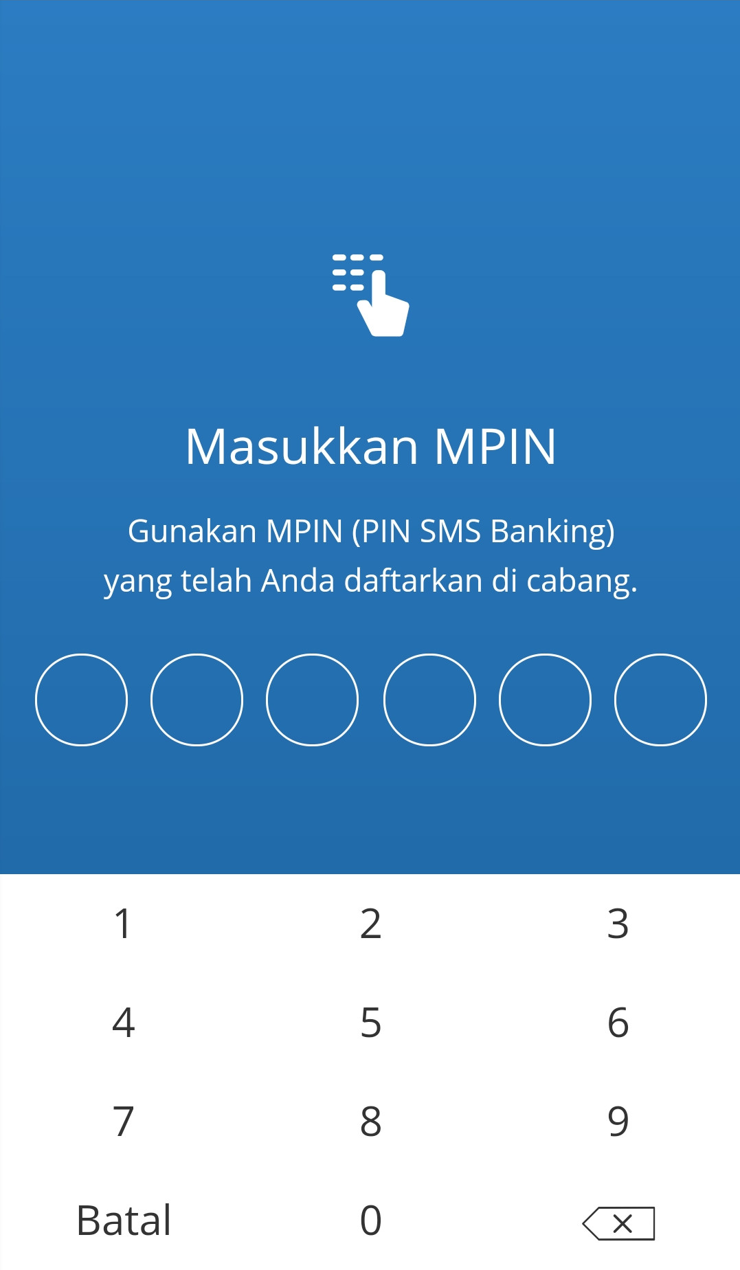 mpin bank mandiri