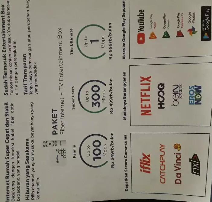 Harga Paket Internet Xl Home Fiber Jaranguda