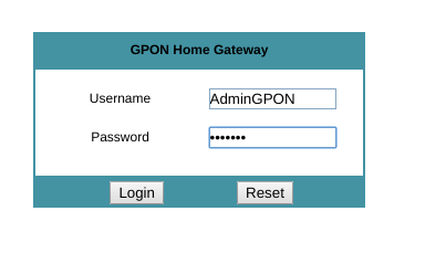 admin GPON balifiber