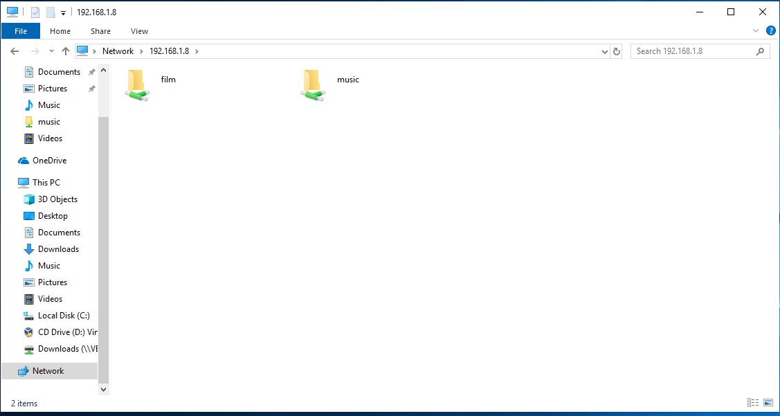 akses samba dari linux