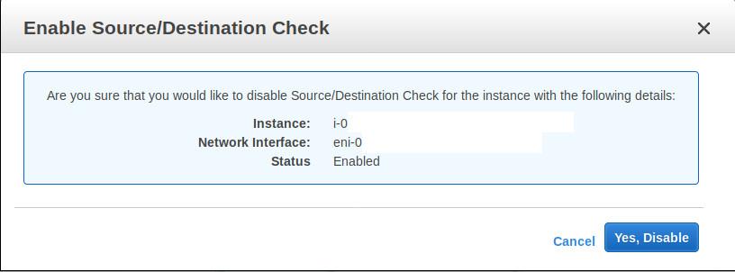 klik untuk disabled