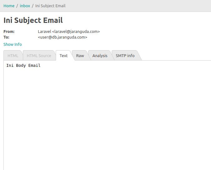 kirim email laravel