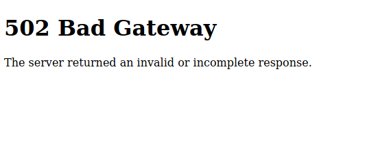 default error page haproxy