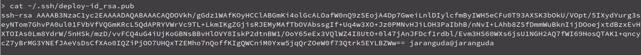 isi public key ssh