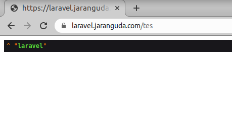 redirect http ke https laravel