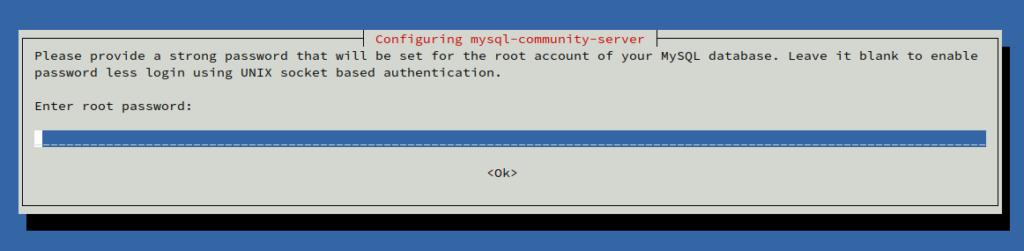 password root mysql