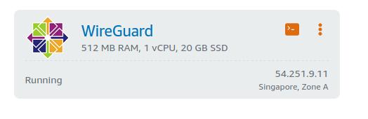 Install Wireguard Centos AWS Lightsail