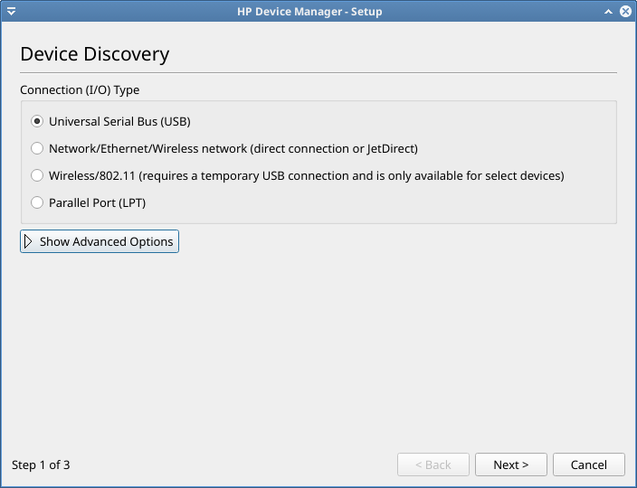 hp device manager setup