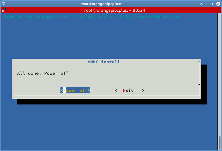 proses install emmc selesai