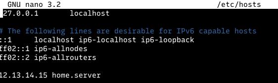 file host linux