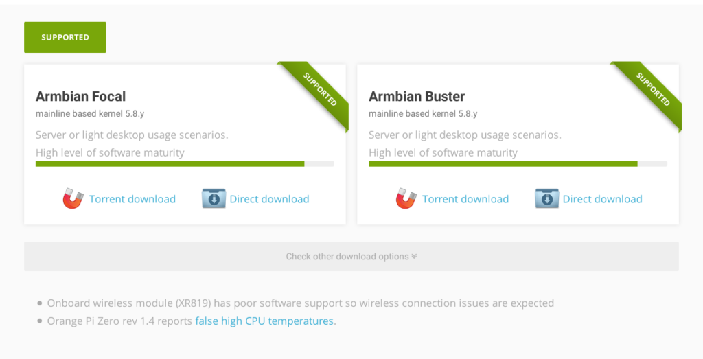 link download armbian
