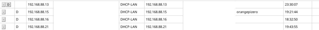 orange pi zero terdeteksi di router mikrotik