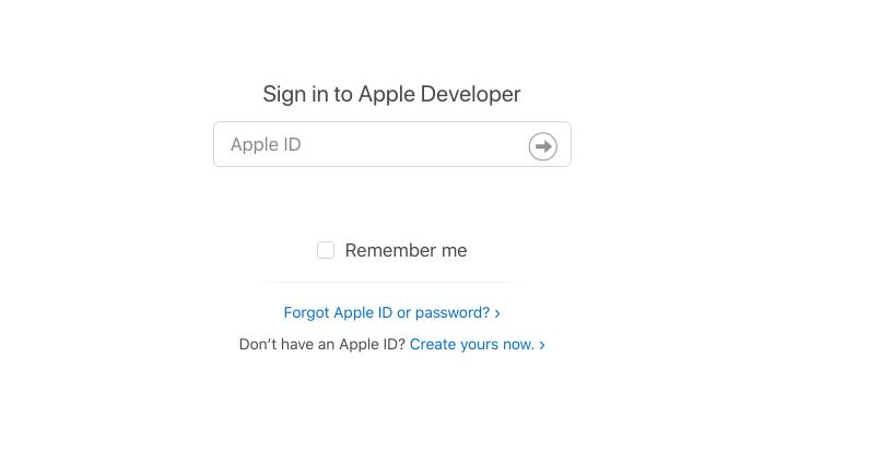 signin apple id