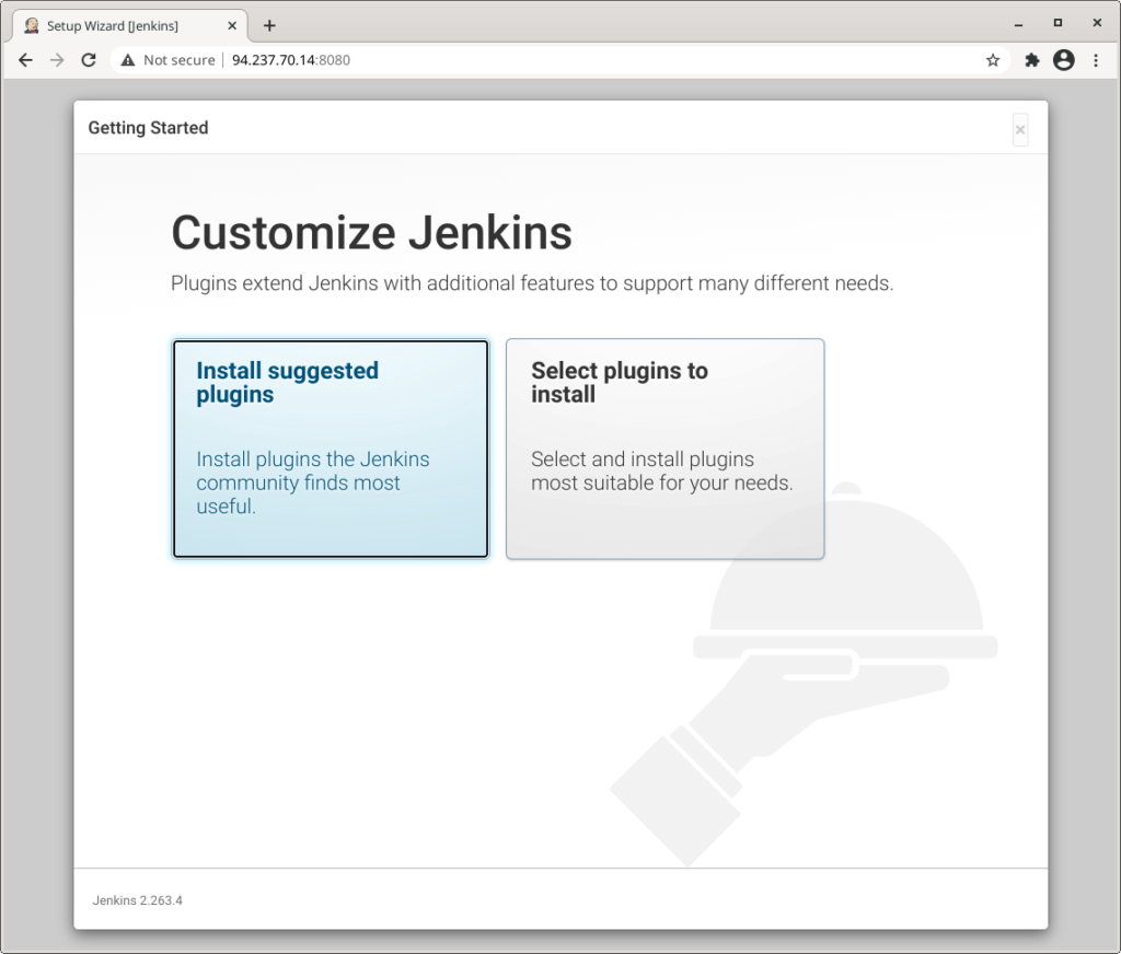 Install Suggested plugins jenkins