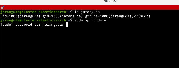 sudo masih meminta password
